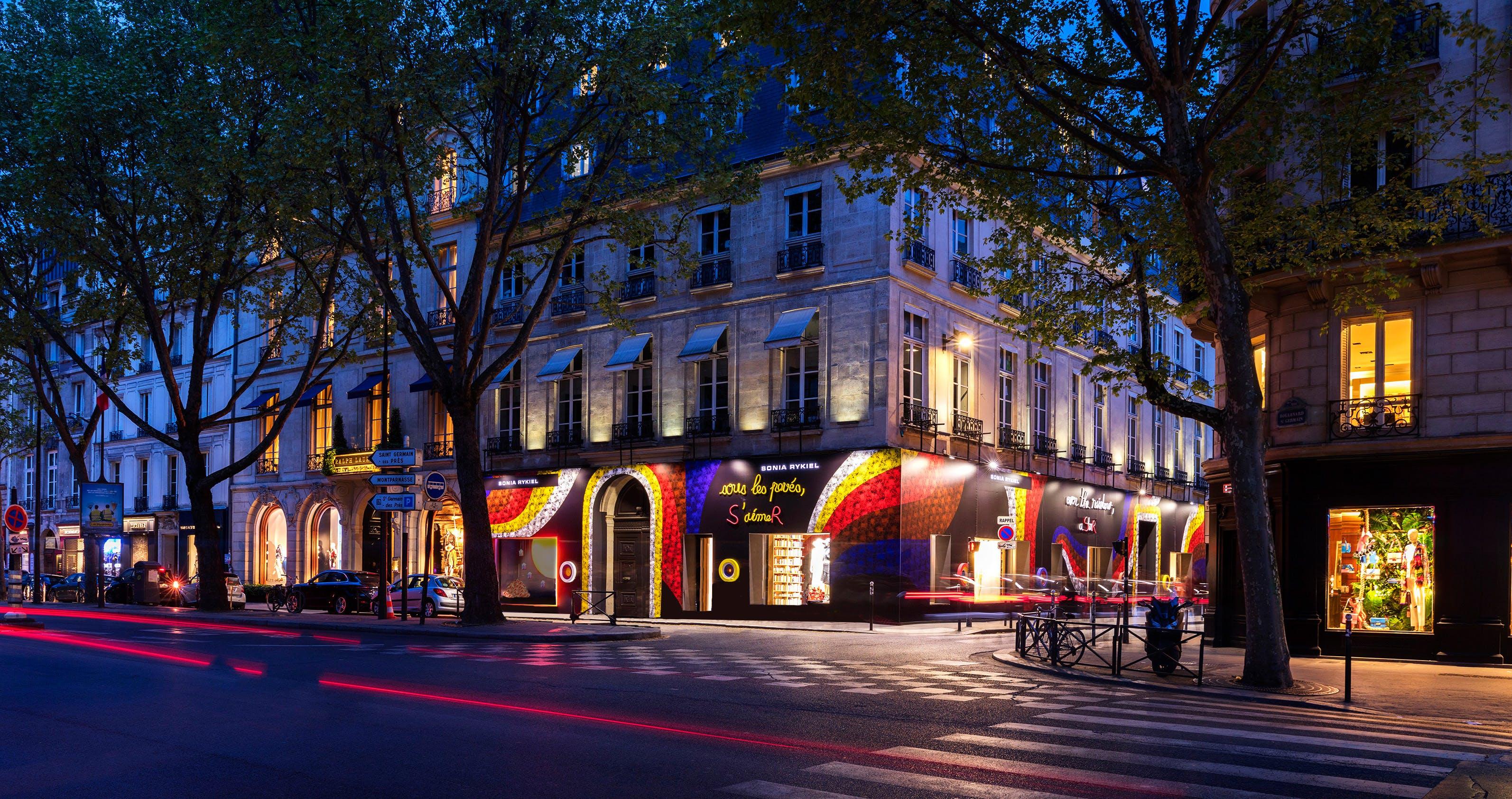 Shop front Sonia Rykiel Paris